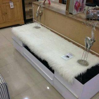 Karpet Bulu Rasfur Korea Aesthetic