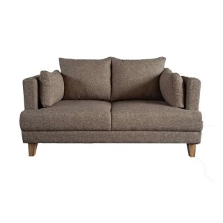 Vassa 2 Seater Wood Sofa