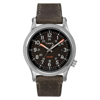 Timex TW2T33200 INDIGLO Allied LT 40mm Leather Strap Watch