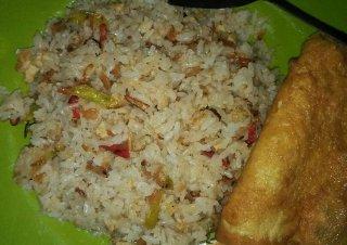 Nasi Goreng Udang Rebon