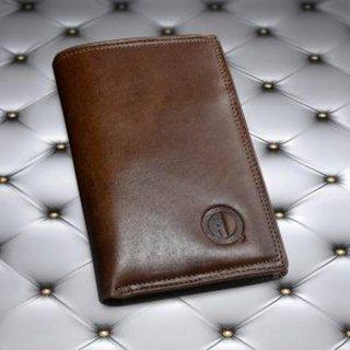 Dompet Pria Kulit Sapi Asli Qi Leather 10 Slot Full Kulit Tanpa Furing D003 K