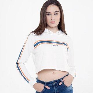 Ryusei MiwaCrop Sweater Wanita - White