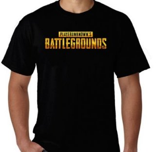 Kaos PUBG Playerunknown's Battlegrounds Logo