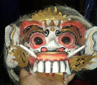 Topeng Rangda Bali Oleh Oleh Khas Bali