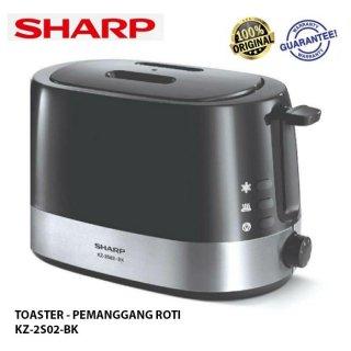 Pop Up Toaster Sharp KZ-2S02-BK