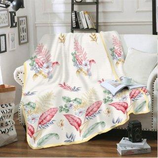 Kintakun Selimut Flannel 160 Polyester Biru Anti Alergi Ezlyn