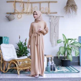 Mybamus Maddy Ballon Dress Camel M15348 R56S5