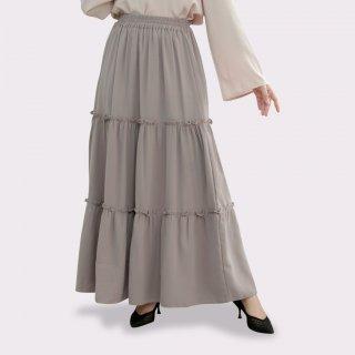 Nobby Chori Skirt Bawahan Wanita Rok Tumpuk Kerut