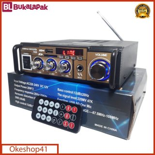 Amplifier NEW AIWA 988 Bluetooth Stereo Karaoke + Mp3 player + FM Radio