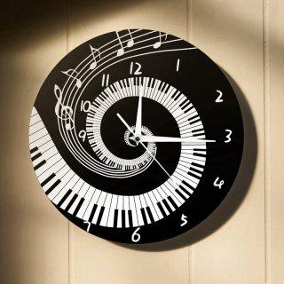 Jam Dinding Desain Piano