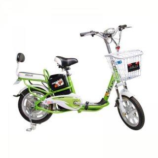 Selis Go Green 48 Sepeda Listrik - Green