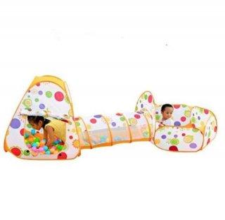 Mainan Tenda Anak Terowongan 4 in 1