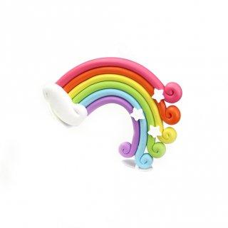 Topper Cake Kue Pelangi Rainbow
