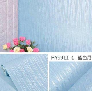 Wallpaper Murah Walsticker Motif Polos Biru