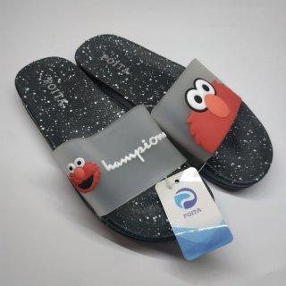 Sandal anak-slip on-elmo poita