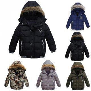 Jaket Tebal Anak Cowok Musim Dingin