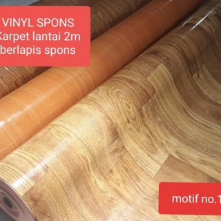 Karpet Lantai Plastik Spon Lebar 200Cm