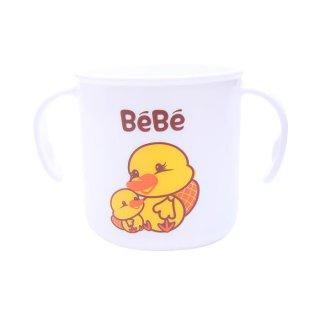 BEBE Feeding Mug White / Gelas Bayi