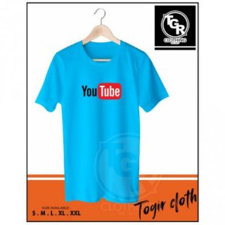 Kaos / Baju Internet YouTube Logo Kaos Youtuber - TGRCLOTH