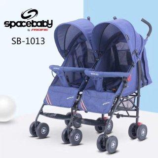 Stroler Space Baby Twin Stroller Kembar