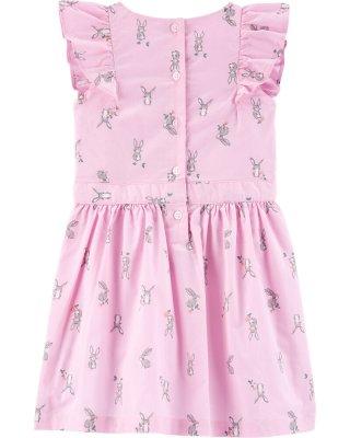 Carter's Bunny Flutter Dress