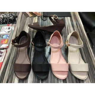 Myanka Jelly Shoes Simple Line