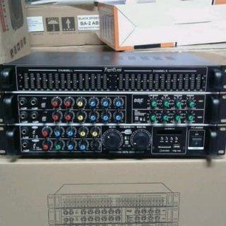 Power Ampli Bluetooth Firstclass FC a4000 Amplifier Mixer Bbe Proceccor