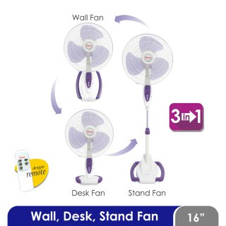Cosmos Stand Fan 16 inch 3in1 Remote - 16SO88R