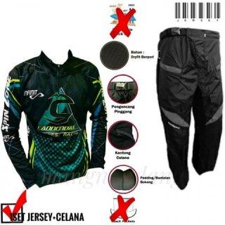 Sepeda Jersey Baju Kaos Celana Sepeda Rankam