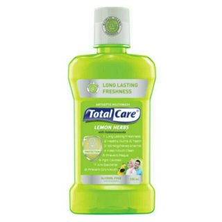 Total Care Anti Bacterial Mouthwash Lemon Herb