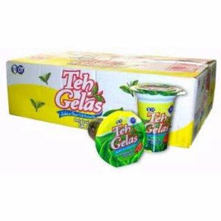 Teh Gelas/Teh Dalam Kemasan Gelas 24 Cups
