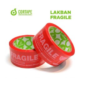 Lakban Fragile Cortape 72 mm
