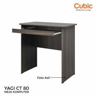 Cubic Meja Komputer Modern / Meja Kerja Rumah Minimalis / YAGI CT 80