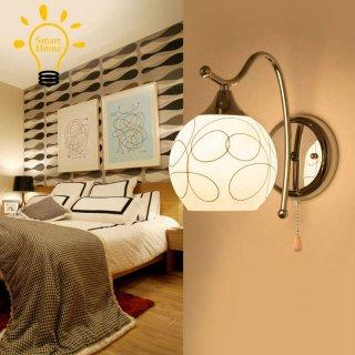 Lampu Dinding LED Kristal Dengan Saklar