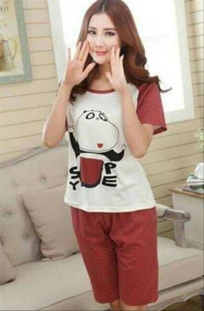 Baju Tidur Dewasa Motif Funny Panda Women