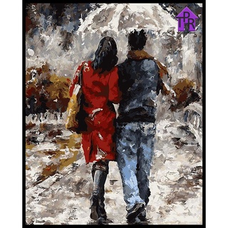 9. Lukisan Bertema Sepasang Kekasih