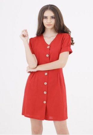 Voerin - Ramona Button Dress