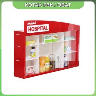 Kotak P3K Mini Hospital Bahan Acrylic
