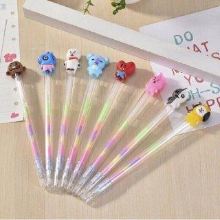 BTS BT21 Rainbow Gel Pen