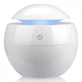 Pengharum Ruangan Elektrik Aromatherapy Air Humidifier Ultrasonic Desain Minimalis Bulat K-003-1