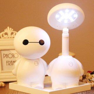 Lampu Meja Baymax Lampu Belajar Anak