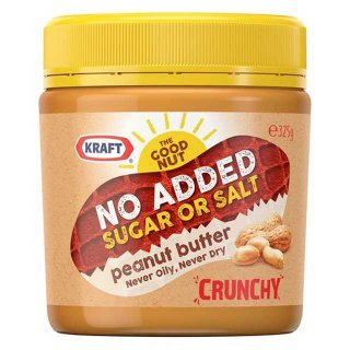 Kraft Crunchy No Added Sugar Peanut Butter
