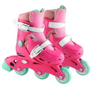 ELC 140321 2 In 1 Pink Skates Sepatu Roda Anak 2 In 1
