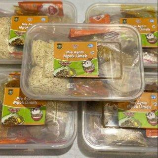 Mie Ayam Spesial Bakso Pangsit Paket Komplit