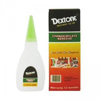 Dextone Cyanoacrylate Adhesive Lem Instant