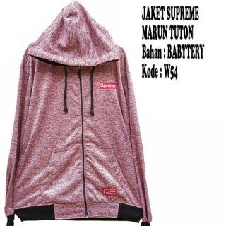Jaket Supreme Tuton Marun W54