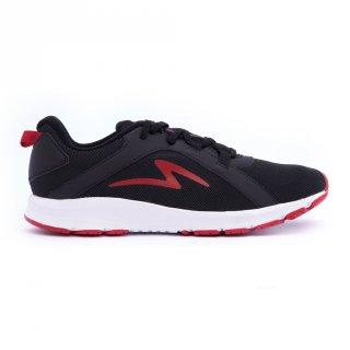 Sepatu Running Specs Lightstreak Black White Red