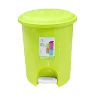 Tempat Sampah Injak Claris Vineeta 1166 Step On Dustbin 11 liter Bulat Plastik