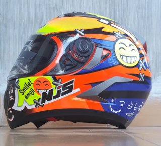 Helm JPN Full Leher Always Smile