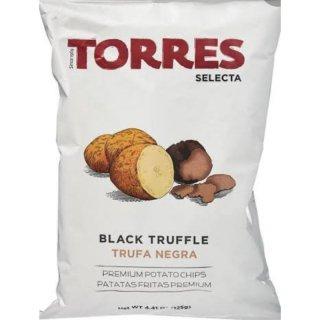 Torres Black Truffle Premium Potato Chips